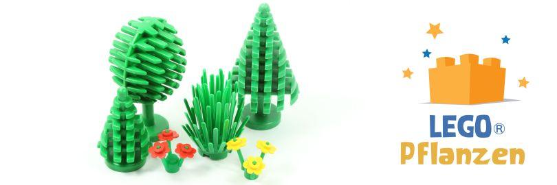 LEGO® Bäume und Pflanzen