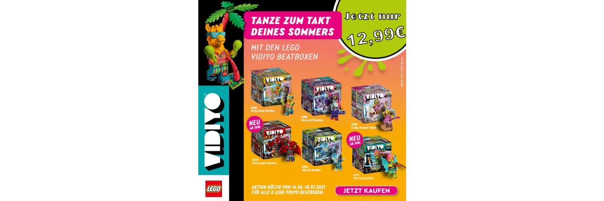 LEGO VIDIYO Beatboxen mit 35% Rabatt - LEGO VIDIYO Music Video Maker Beatbox Sonderangebot