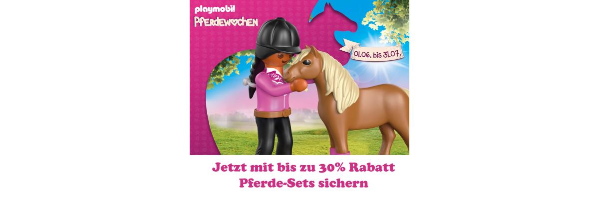 PLAYMOBIL® Pferdewochen Sets mit bis zu 30% Rabatt - PLAYMOBIL® Pferdewochen Sets mit bis zu 30% Rabatt I Steinchenwelt