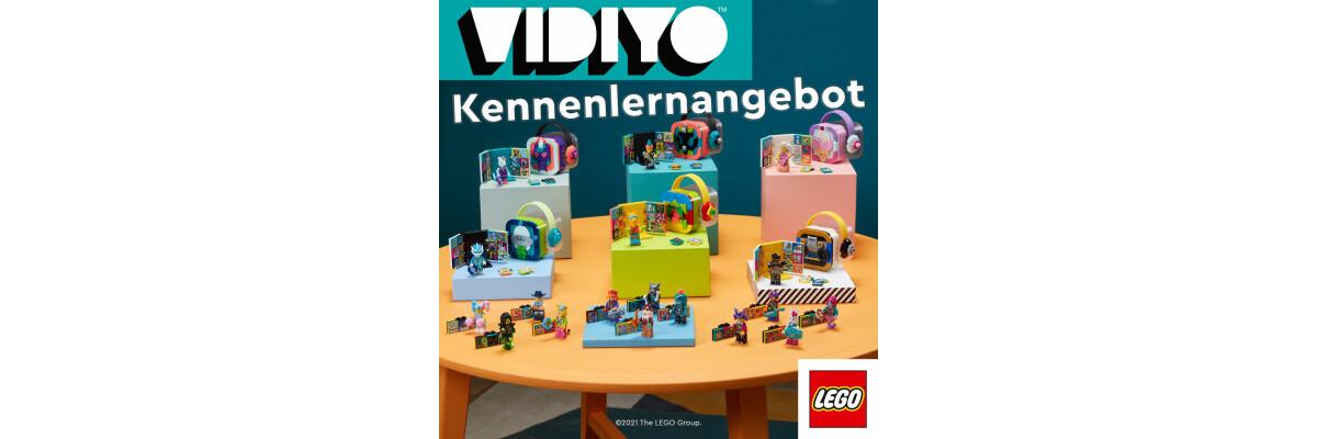 LEGO® VIDIYO Kennenlernangebot - LEGO® VIDIYO Kennenlernangebot bei der Steinchenwelt