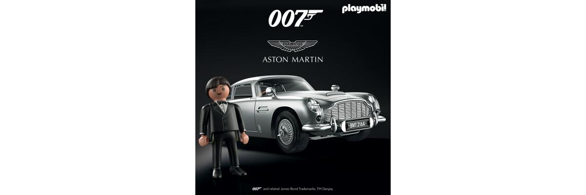 PLAYMOBIL® Aston Martin im Vorverkauf - PLAYMOBIL® Aston Martin im Vorverkauf   Steinchenwelt
