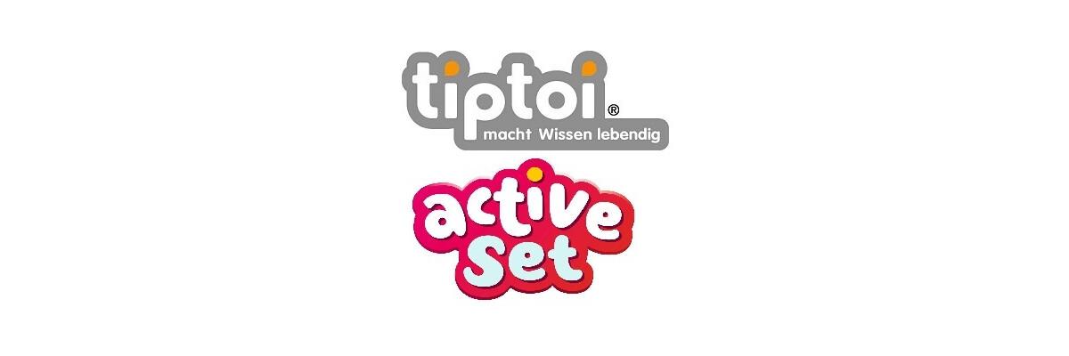 Neue tiptoi ACTIVE Sets - Neue tiptoi ACTIVE Sets bei der Steinchenwelt