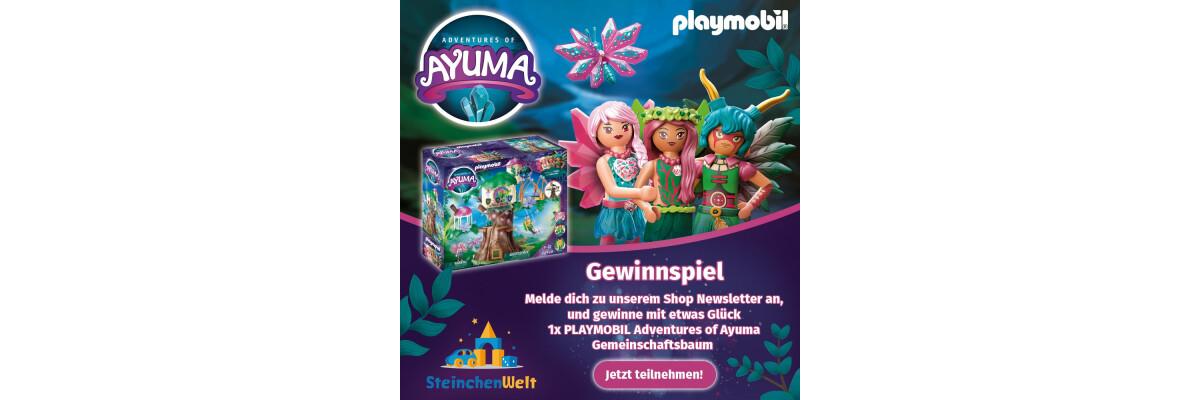 Gewinnspiel - 1x Playmobil Adventures of Ayuma Gemeinschaftsbaum zu gewinnen! - Gewinne mit etwas Glück ein großes Playmobil Set bei der Steinchenwelt