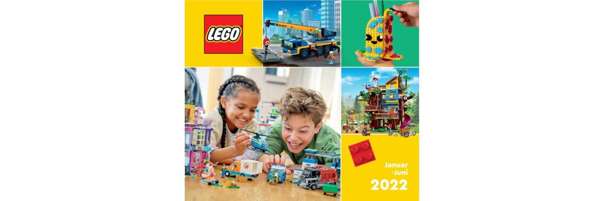 Der neue LEGO® Katalog ist eingetroffen!  - Der neue LEGO® Katalog bei Steinchenwelt.net