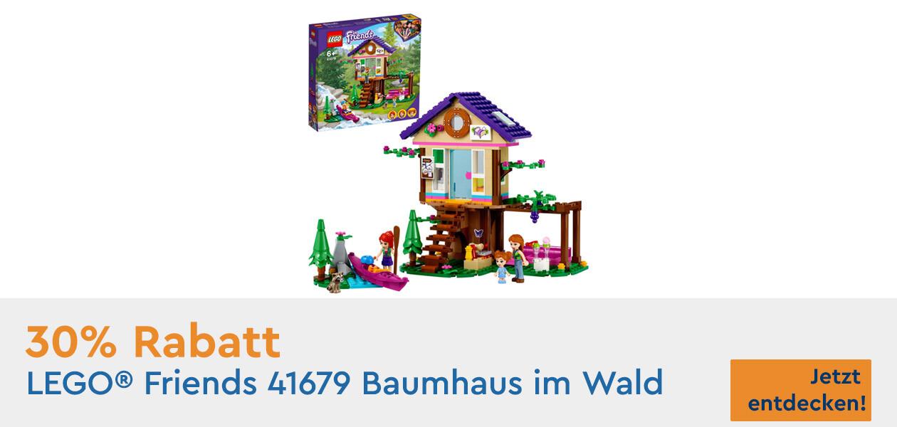 LEGO® Friends 41679 Baumhaus im Wald mit Sonderrabatt