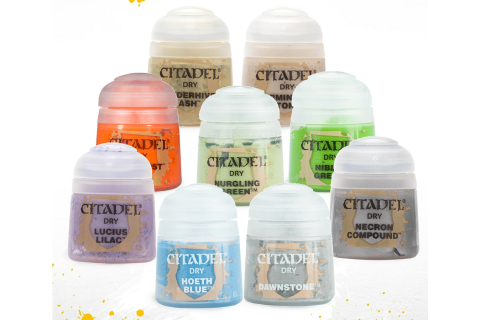 Citadel Dry Farben (zum Auswählen)