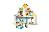 LEGO® 10929 DUPLO Unser Wohnhaus 3-in-1 Set, Puppenhaus für Mädchen und Jungen ab 2 Jahren mit Figuren und Tieren