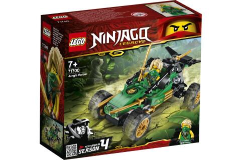 LEGO® 71700 NINJAGO Legacy Lloyds Dschungelräuber Auto mit Minifigur Lloyd, Turnier der Elemente Bauset