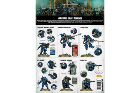 Warhammer 40.000: Vanguard Space Marines Start Collecting! 70-42