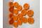 LEGO® Power Miners Hartplastik 16x Räder in orange