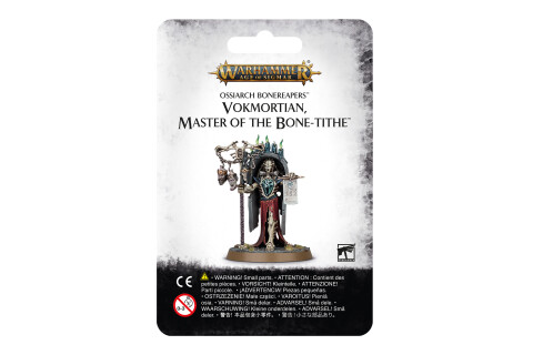 Warhammer Age of Sigmar: Vokmortian Master of the Bone-Tithe 94-20