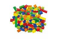 Hubelino 400390 bunte Bausteine Box (120-teilig)