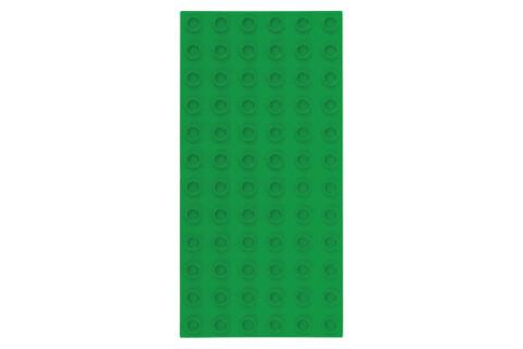 Strictly Briks - Bauplatte 6x12 BIG BRIKS Grün Doppelpack