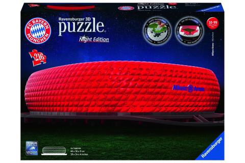 Ravensburger 3D Puzzle Allianz Arena bei Nacht