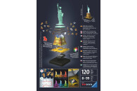 Freiheitsstatue bei Nacht - 3D Puzzle