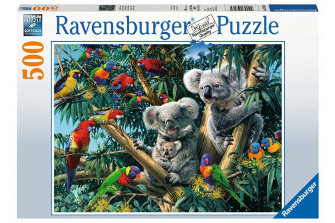 Ravensburger 500 Teile Puzzle: Koalas im Baum