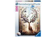 Ravensburger 1000 Teile Puzzle: Magischer Hirsch