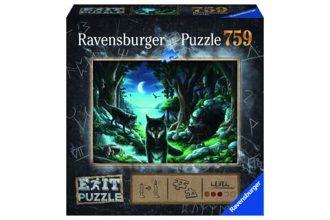 Ravensburger EXIT Puzzle mit Rätseln - Exit 7: Wolfsgeschichten