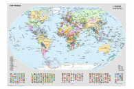 Ravensburger 1000 Teile Puzzle: Politische Weltkarte