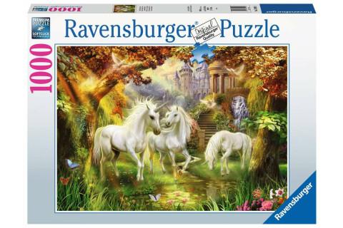 Ravensburger 1000 Teile Puzzle: Einhörner im Herbst