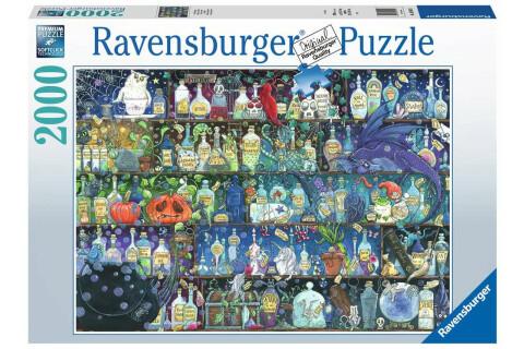 Ravensburger 2000 Teile Puzzle: Der Giftschrank