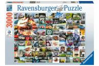 Ravensburger 3000 Teile Puzzle 99 Bulli Moments