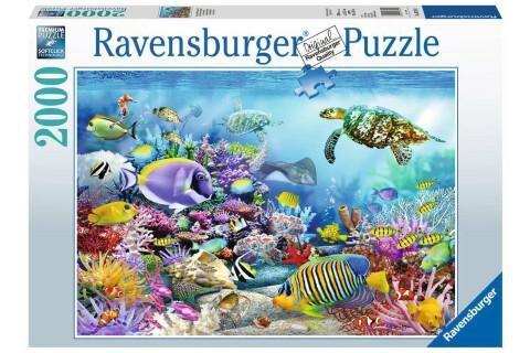 Ravensburger 2000 Teile Puzzle: Lebendige Unterwasserwelt