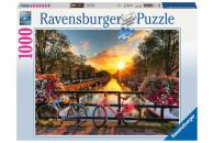 Ravensburger 1000 Teile Puzzle: Fahrräder in Amsterdam