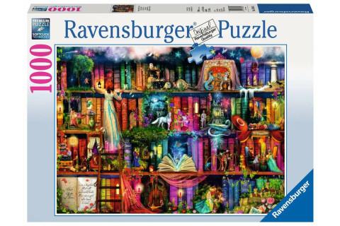 Ravensburger 1000 Teile Puzzle: Magische Märchenstunde