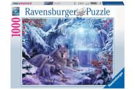 Ravensburger 1000 Teile Puzzle: Winterwölfe
