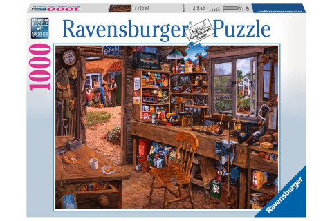 Ravensburger 1000 Teile Puzzle Opas Schuppen