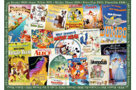 Ravensburger 1000 Teile Puzzle Disney Vintage Movie Poster