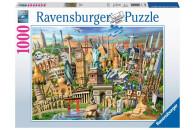 Ravensburger 1000 Teile Puzzle: Sehenswürdigkeiten...