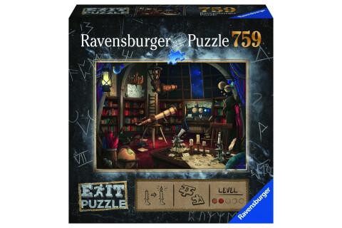Ravensburger EXIT Puzzle mit Rätseln - Exit 1: Sternwarte