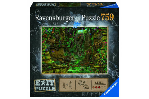 Ravensburger EXIT Puzzle mit Rätseln - Tempel in Angkor Wat