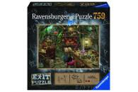 Ravensburger EXIT Puzzle mit Rätseln - Exit 3:...