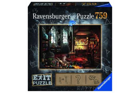 Ravensburger EXIT Puzzle mit Rätseln - Exit 5: Im Drachenlabor