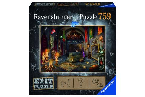 Ravensburger EXIT Puzzle mit Rätseln - Exit 6: Im Vampirschloss
