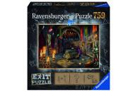 Ravensburger EXIT Puzzle mit Rätseln - Exit 6: Im...