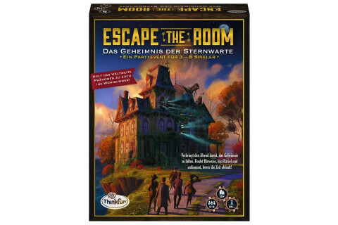 Ravensburger Escape the Room - Das Geheimnis der Sternwarte