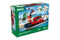 BRIO Container Hafen Set