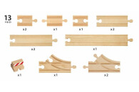 BRIO Schienen Starter Pack B