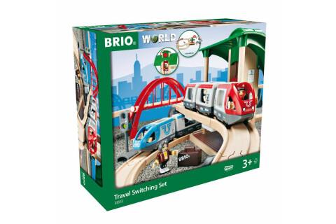 Großes BRIO Bahn Reisezug Set