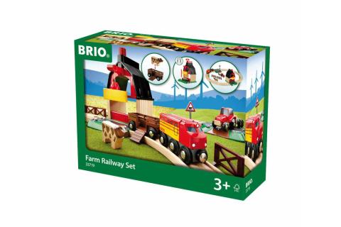 BRIO Bahn Bauernhof Set