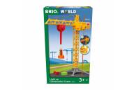 BRIO Großer Baukran mit Licht