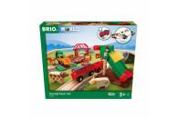 BRIO großes Bahn Bauernhof-Set