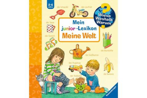 Ravensburger WWW Junior: Mein junior-Lexikon: Meine Welt