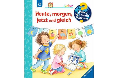 Ravensburger WWW Junior: Heute, morgen, jetzt und gleich