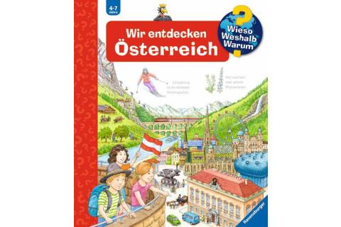 Ravensburger 32645 WWW58 Wir entdecken Österreich
