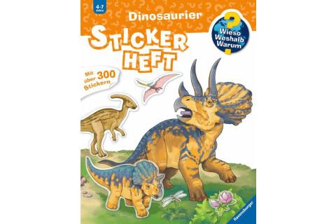 Ravensburger 32677 WWW Stickerheft: Dinosaurier